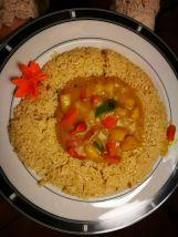 Plato curry